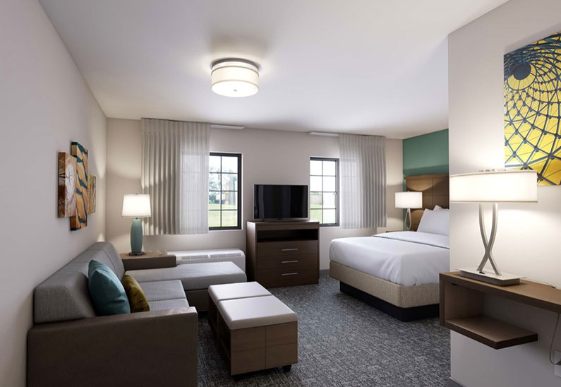 Staybridge Suites Columbia Hotel, Missouri Fitness Center