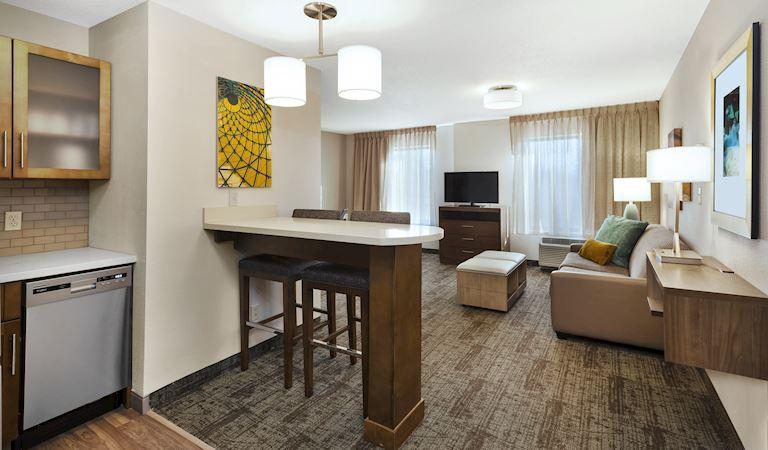1 Bedroom Suite, 2 Queen Beds Non-smoking at Staybridge Suites Columbia Hotel, Missouri