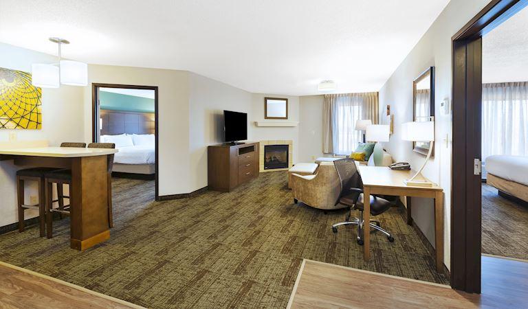 2 Bedroom Executive Suite 2 Beds 2 Baths Non-smoking at Staybridge Suites Columbia Hotel, Missouri